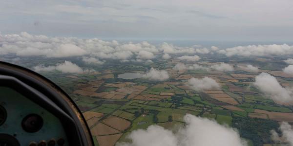 Angleterre sous les nuages