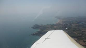 St Hélier vue à l'arrivée sur Jersey