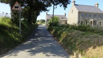 Les routes de campagne de Jersey