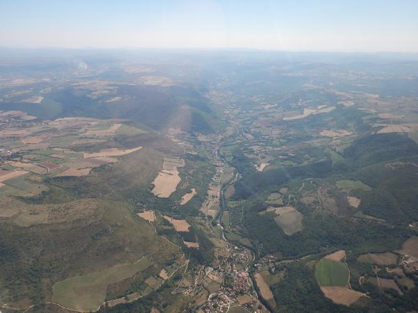 Une vallée dans le Massif Central