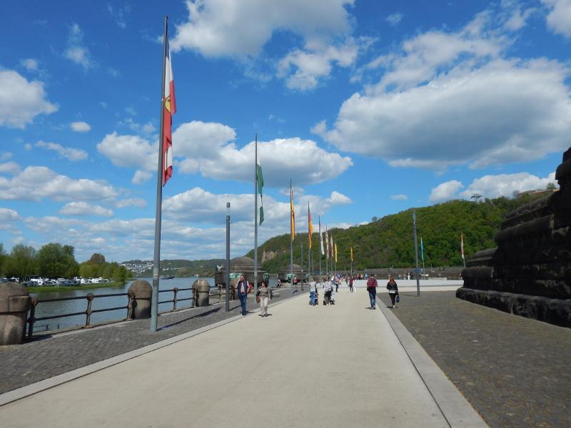 Koblenz - Les bords de la Moselle