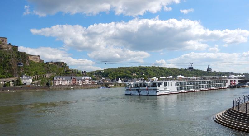 Koblenz - Les bords du Rhin