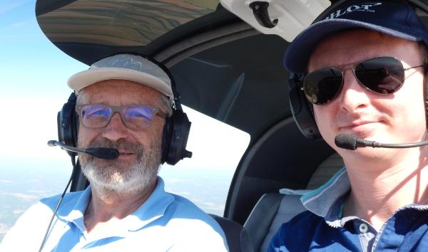Lionel et Fred, les pilotes