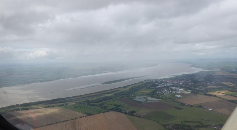 Traversée de l'Elbe