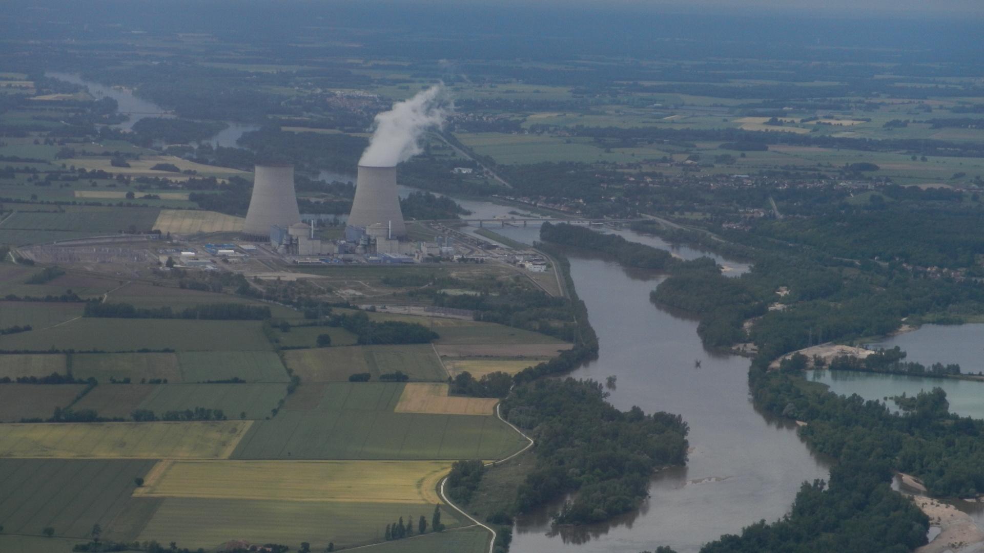 Centrale nucléaire de Belleville sur la Loire
