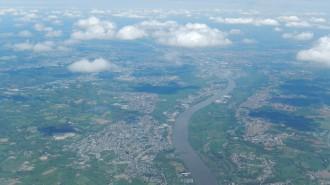 Nantes vue d'ouest