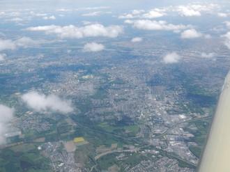 Nantes sous les nuages