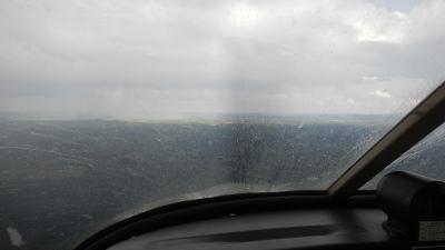 Pluie en avion