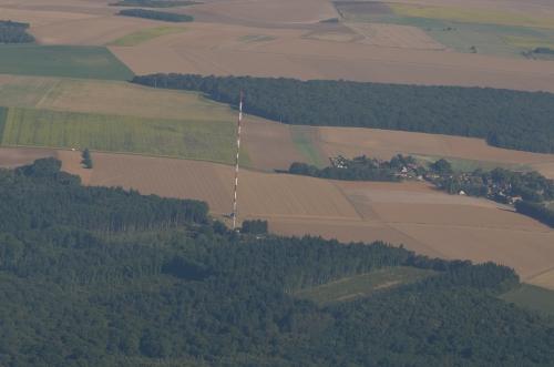 Antenne avant l'arrivée