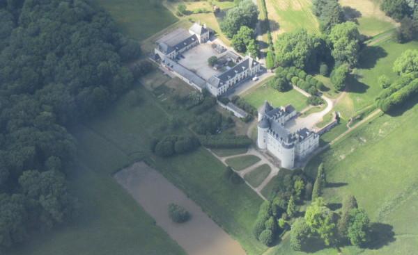 Un château près du Cher