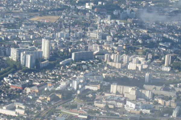 Un quartier de Rennes