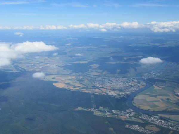 Une vallée près de Bitburg